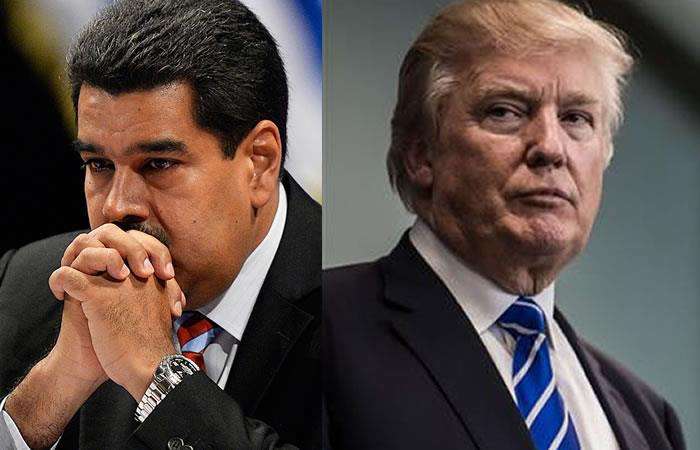 Nicolás Maduro advierte a Donald Trump