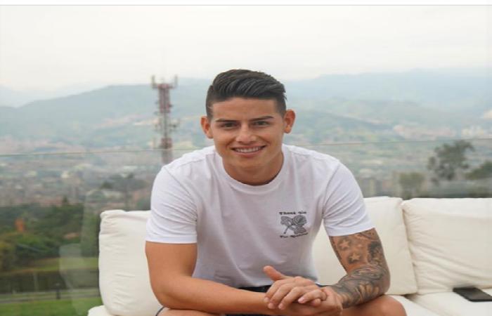 James Rodríguez enternece las redes con hermosa fotografía