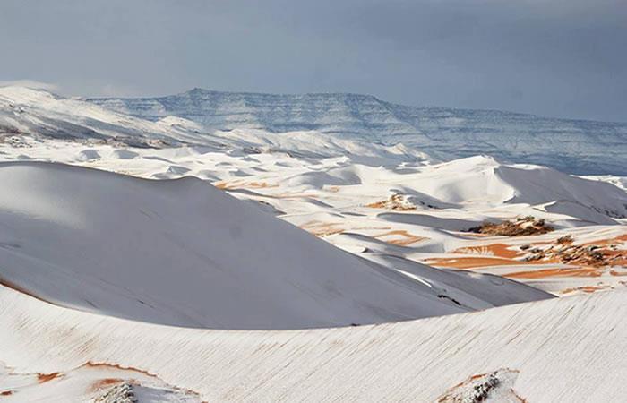 Desierto del Sahara: Nieva por tercera vez en casi 40 años