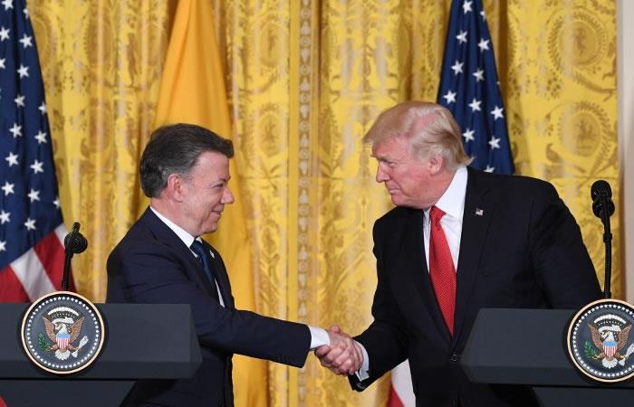 El regaño de Donald Trump a Juan Manuel Santos