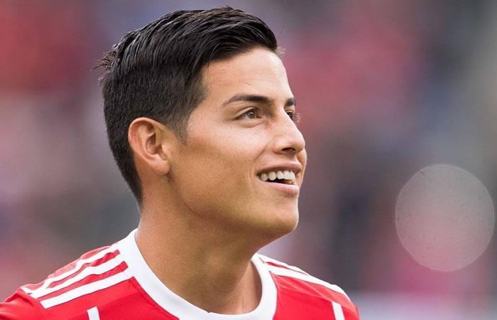 James Rodríguez y el Bayern Múnich ganaron este martes en partido amistoso