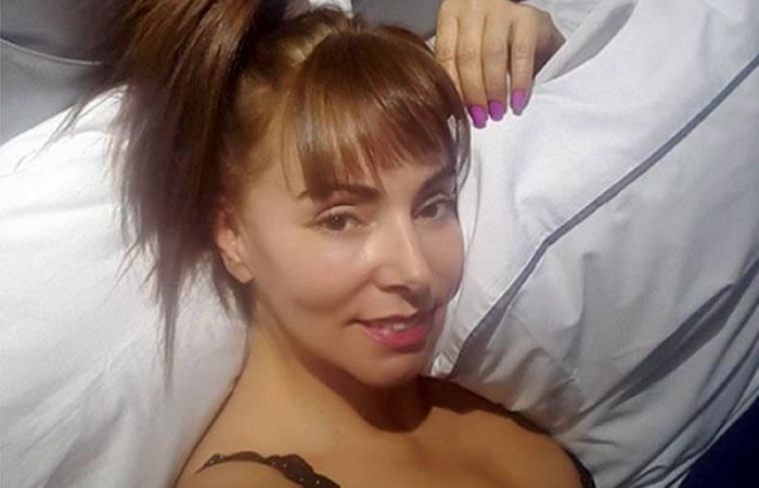 María Auxilio Vélez en bikini, así disfruta sus vacaciones