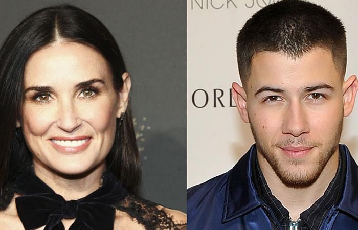 Demi Moore estaría saliendo con Nick Jonas, 30 años menor que ella
