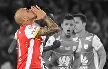 Independiente Santa Fe le dice adiós a Omar Pérez, el eterno ídolo
