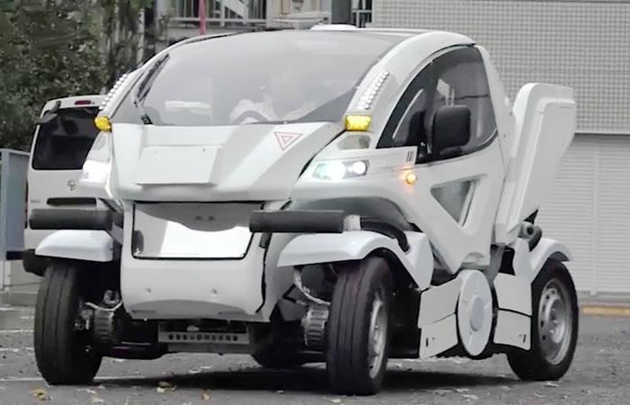 Japón crea primer auto inspirado en los Transformers