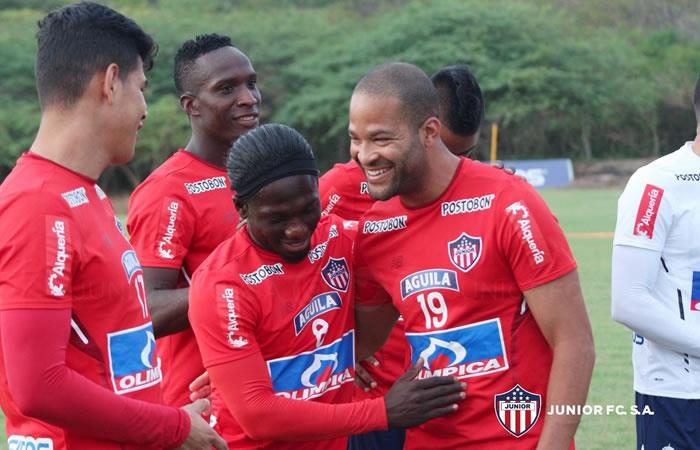 Junior: Alberto 'el Mudo' Rodríguez tuvo su primer entrenamiento con el equipo