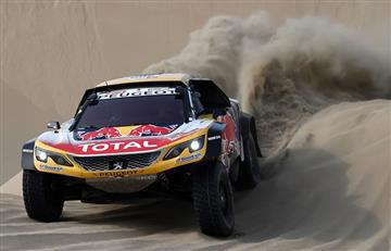 Peterhansel y Barreda ganan la 5° etapa del Dakar; Loeb dice adiós