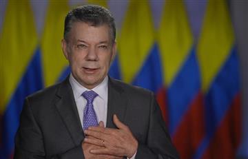 Santos destaca la reducción de la violencia en su primera alocución del 2018