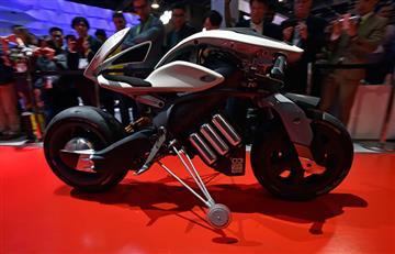 """CES 2018: Yamaha presenta su """"moto del futuro"""""""