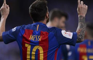 Copa del Rey: Con doblete de Messi, Barcelona clasifica a cuartos