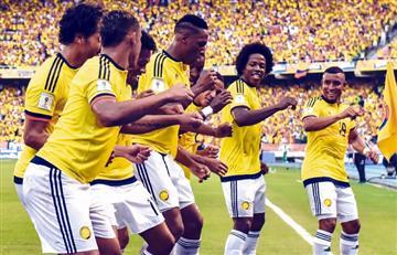 El primer jugador de la selección Colombia que felicitó a Yerry Mina