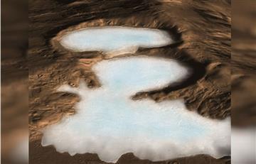 NASA: Detectan abundantes glaciares cerca de la superficie de Marte