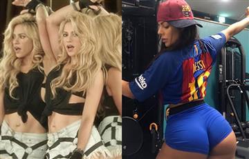 ¿Shakira preocupada? La mejor cola de Brasil cambia a Messi por Piqué