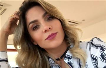 Video: A Mabel Cartagena también se le inundó la casa
