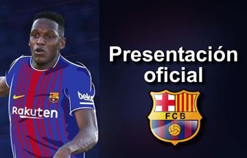 Yerry Mina: Todo lo que debes saber sobre su presentación oficial con el Barcelona