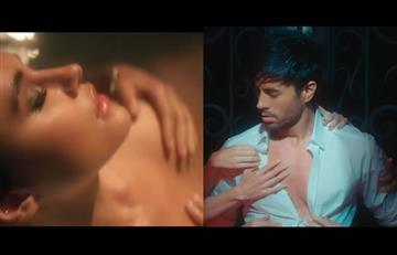 Enrique Iglesias estrena erótico video con colaboración de Bad Bunny