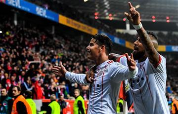 James Rodríguez inició el 2018 con un golazo en el Bayern Múnich