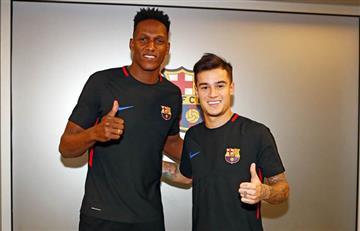 Barcelona confirmó convocatoria ¿Está Yerry Mina entre los citados?