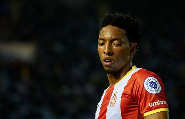 Girona goleó 6-0 a Las Palmas, el colombiano Johan Mojica se reportó con asistencia