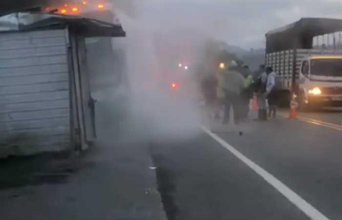 Grupo Galé sufrió un accidente de tránsito