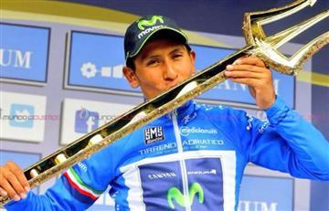 Tirreno-Adriático: Nairo Quintana buscará repetir su título en Italia