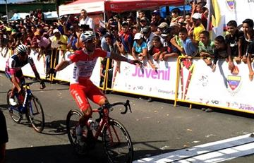 Vuelta al Táchira: El italiano Mateo Malucceli gana la primera etapa