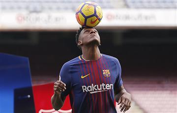 """Yerry Mina: """"Quiero hacer historia con el Barcelona"""""""