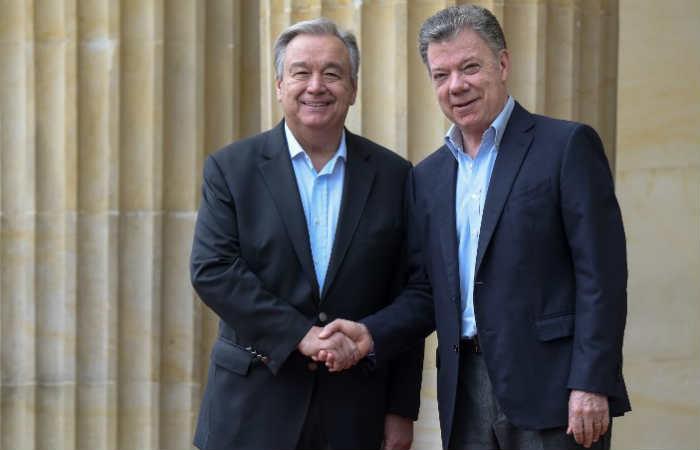 Secretario de la ONU apoya la consolidación de la paz