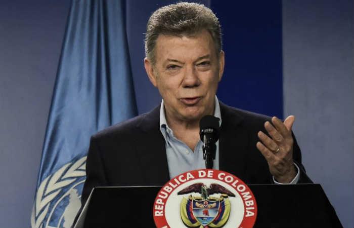 Santos expresa a Guterres su