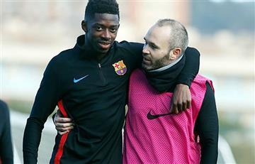 Dembélé de nuevo lesionado y será nuevamente baja del Barcelona