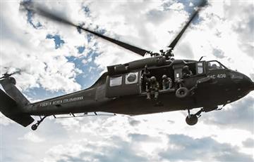 Helicóptero del Ejército se accidentó en Segovia, Antioquia