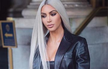Kim Kardashian anunció la llegada de su tercer hijo