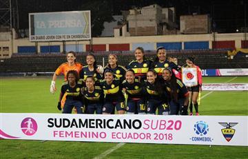 Selección Colombia Femenina: La Sub20 goleó a Ecuador en la segunda fecha del sudamericano