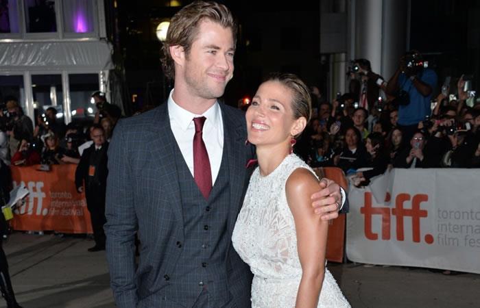 Elsa Pataky y Chris Hemsworth protagonizan su primera película juntos