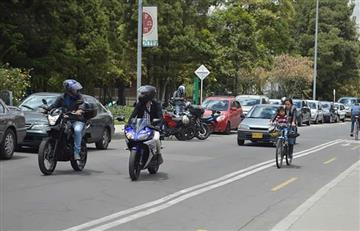 Alcaldía de Bogotá contempla prohibir el parrillero en moto