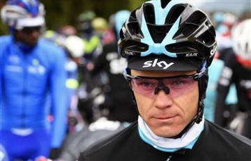 Chris Froome: Presidente de la UCI espera que el SKY lo suspenda