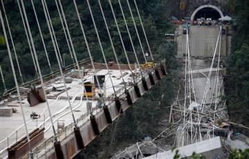 El video que aclararía lo que ocurrió con el puente Chirajara
