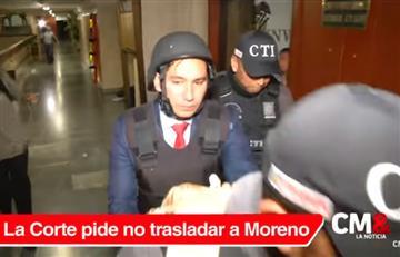 Moreno debe seguir en Guarnición Militar, es el pedido de la Corte Suprema