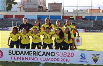 Selección Colombia Femenina humilló a Perú en tercera jornada del Sudamericano Sub20