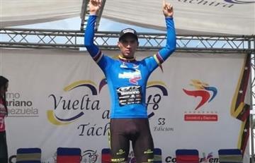 El colombiano Cristian Talero se quedó con la octava de la Vuelta a Táchira