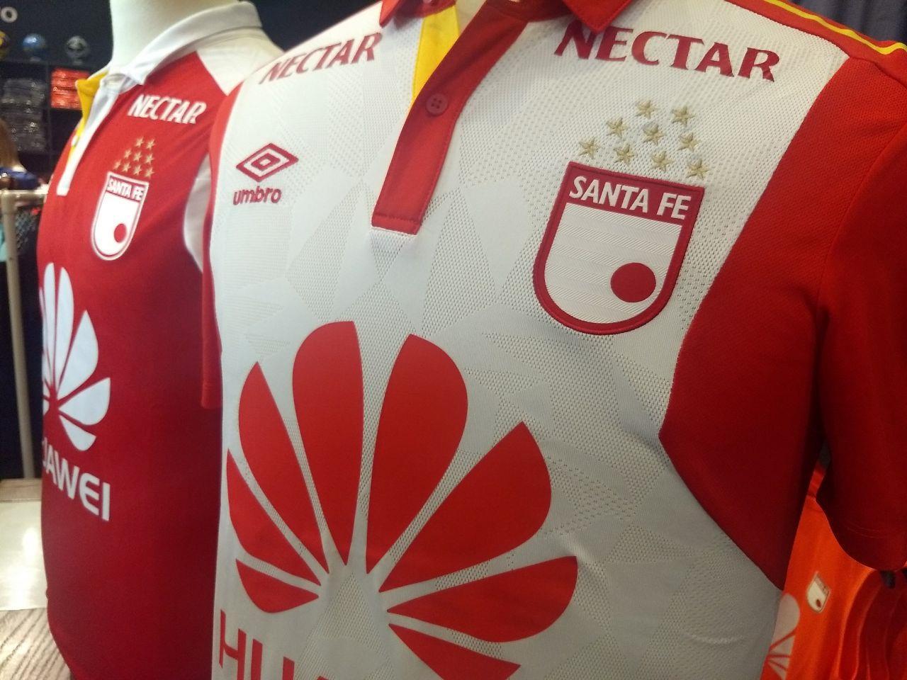 Independiente Santa Fe presentó su nueva piel para la temporada 2018