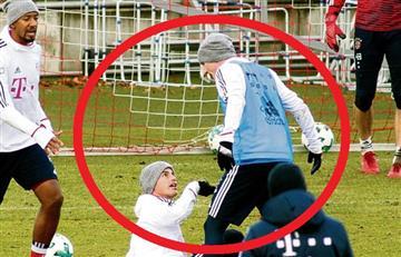 James por poco se va a los golpes con uno de sus compañeros del Bayern