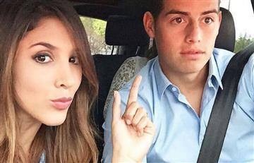 James Rodríguez recordó a Daniela Ospina y esto fue lo que dijo
