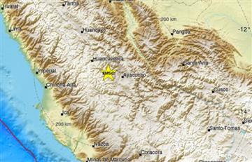 Temblor de 5,2 grados sacude los Andes de peruanos
