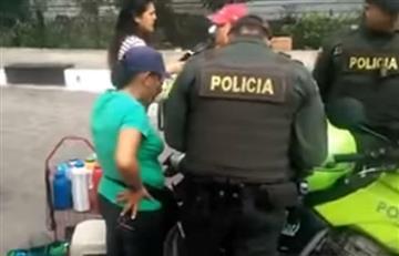Video: Polémica multa a una mujer que vende tintos en la calle