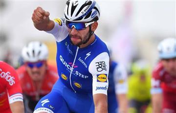 Fernando Gaviria y Vicenzo Nibali se roban las miradas en La Vuelta a San Juan