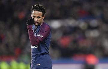 Neymar otra vez fuera de la convocatoria de PSG