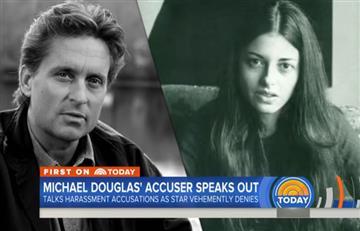Periodista acusa a Michael Douglas de acoso y masturbarse en su presencia