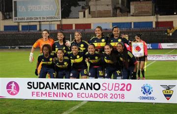 Selección Colombia Femenina clasificó al cuadrangular final del Sudamericano Sub20