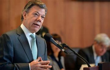 Juan Manuel Santos buscará una tregua con el ELN para lograr la paz